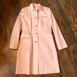 Banana Republic light pink trench coat size medium